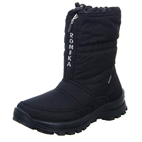 Romika Damen Alaska 118 Schneestiefel, Schwarz Schwarz, 44