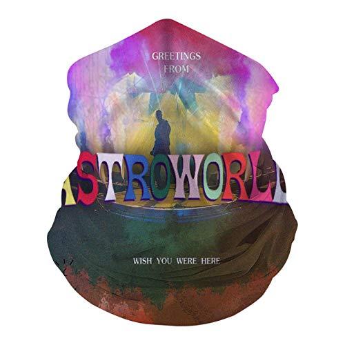 1107 Astroworld Wish You Were Here - Pasamontañas multifunción para cubrir la cara, bandana elástica para exteriores