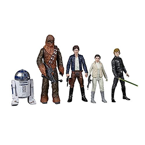Action figure Star Vintage Leia Chewbacca Luke Han Solo 5-pack 3.75 Loose Action Figure