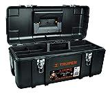 Truper CHP-23X, Caja para herramienta, calidad industrial, broches metálicos, 23'