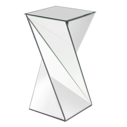 Howard Elliott 11093 Twisted Mirrored End Table