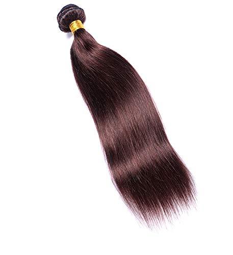 Cheveux étendus Brésil 100% Perruque Personne Réelle 100g À La Mode Rideau De Cheveux Longue Perruque Femme 16-24 Pouces Convient Pour Les Mariages Noir,20inches