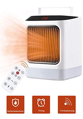 2000 W Convecteur Électrique Portable Thermostat Froid Hiver 2 kW
