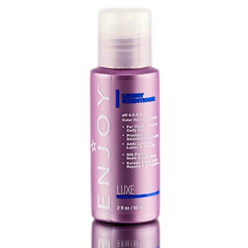 ENJOY Luxury Conditioner (2 OZ) Smooth, Soft, Silky Hair Conditioner with Hydrating Formula