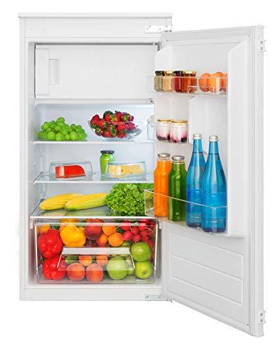AMICA EKSS 361 200 Einbau Kühlschrank mit Gefrierfach/Schlepptürtechnik/A+ / 140 l