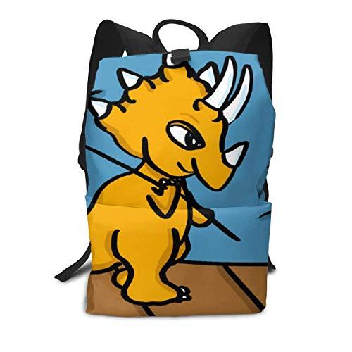 Homebe Zaino Scuola, Cartella per Laptop,Borsa Viaggio For Boys And Girls, Dinosaur Printed Primary Junior High School Bag Bookbag