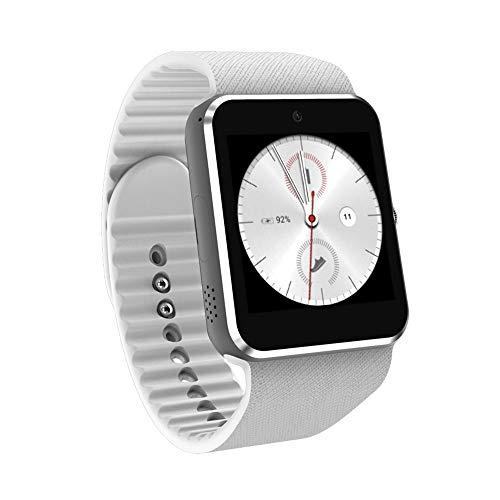 Smart Watch QW09 3G Mobiles Bezahlen anrufen Android-System WiFi-Modus Foto Schritte Bewegung Smartwatch (Weiß,)