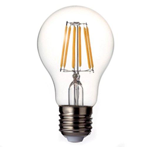 XZANTE Retro LED Filamento Leggero lampada E27 4W 110~240V A60 Bicchiere Conchiglia Lampadina 5 pezzi