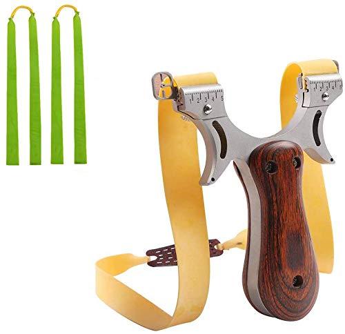 IRQ Zwille Steinschleuder, Rostfreier Stahl Schleuder Katapult Steinschleuder Zwille Slingshot Schleuder Steinschleuder Kaufen Sportschleuder