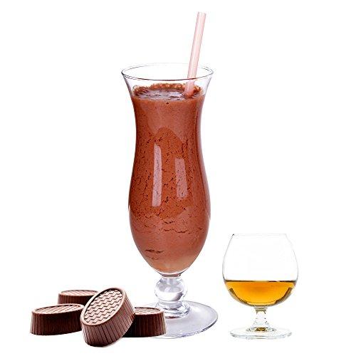 Brandy Creme Praline Schoko Molkepulver Luxofit mit L-Carnitin Protein angereichert Wellnessdrink Aspartamfrei Molke (Brandy Creme Praline, 10 kg)