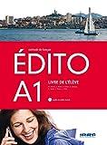 EDITO A1 ELEVE+CD+DVD - 9788490491928