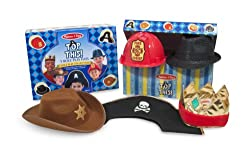 Melissa & Doug Top This! Role Play Hats