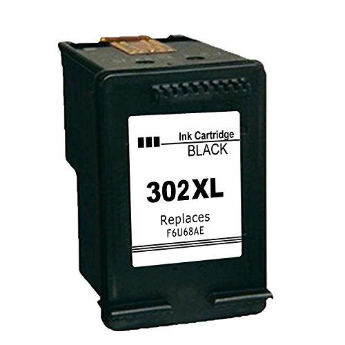 Ink_seller Remanufactured HP 302XL Cartouches d'encre Noir Compatible avec HP DeskJet 1110 2130 2132 3630 3632 3633 HP OfficeJet 3830 3831 3832 4651 4652 4654 HP Envy 4520 4521 4522 4527 4528