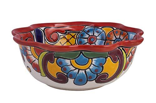 Cerames Chicharronera Mediana - Cuenco de cerámica Talavera