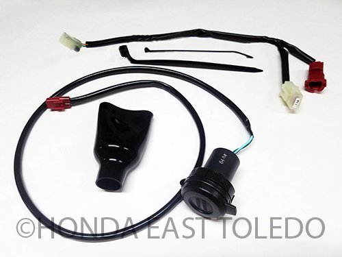 Honda Genuine Accessories 12V Accessory Socket for 16-19 CRF1000L