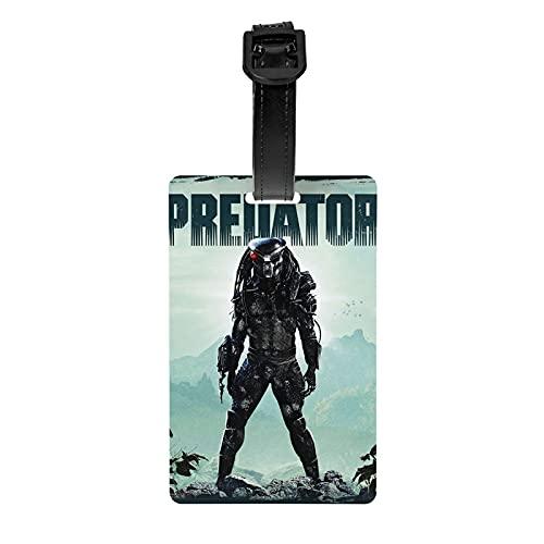Predator Tourister Lage Tag | Etiquetas de bolsa Etiquetas Maleta Identificadores