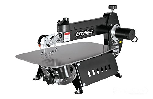 """Excalibur - EX-21 21"""" Tilting Head Scroll Saw with Foot switch"""
