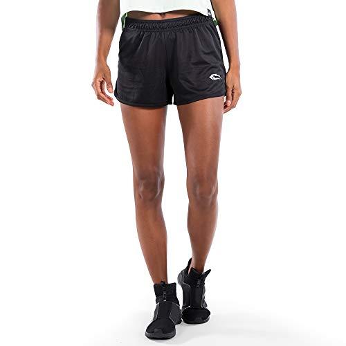 SMILODOX Pantalones cortos Thrive | Pantalones cortos para deporte, fitness, gimnasio, entrenamiento y tiempo libre | Pantalones de entrenamiento Negro L