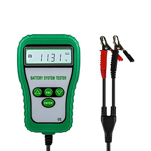UOEIDOSB DY216 Probador de batería de automóviles 12V Meter DE BATERÍA DE BATERÍA DE Coches Tester 100-1700 CCA Indicador de Carga Analizador de batería Digital