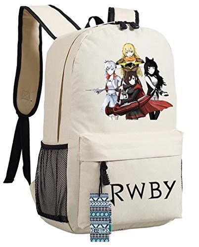 yoyoshome® Anime RWBY Ruby Rose Cosplay mochila mochila mochila bolso de escuela