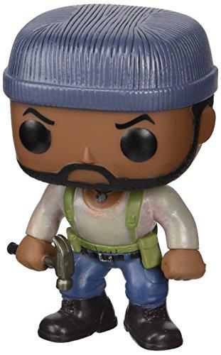 Funko Pop! TV: The Walking Dead - Tyrese - Figuras de Juguete para niños (Multi) - Figura Pop Tyresse 10 cm