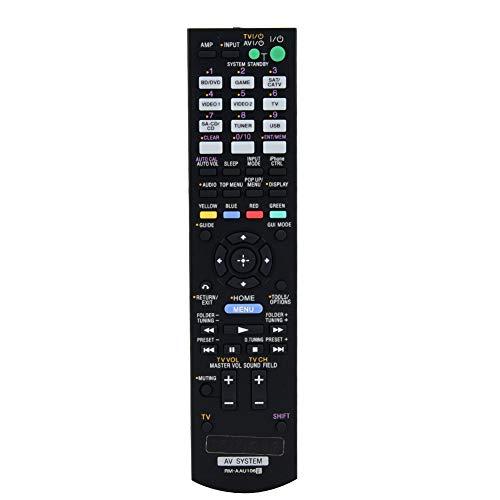 Smart TV-afstandsbediening voor Sony, multifunctionele TV-afstandsbediening Vervanging van tv-controller voor Sony RM-AAU106 AV-ontvangersysteem TV