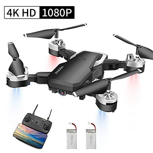 Abblie Drone avec Caméra, Drone Enfant avec WiFi FPV 1080P HD 4K Pixels, Mode sans Tête&Maintien...