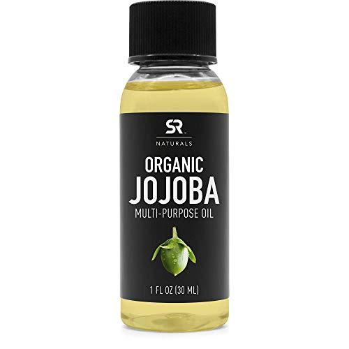 Organic Jojoba Oil by SR Naturals ~ 1oz Travel Size Bottle