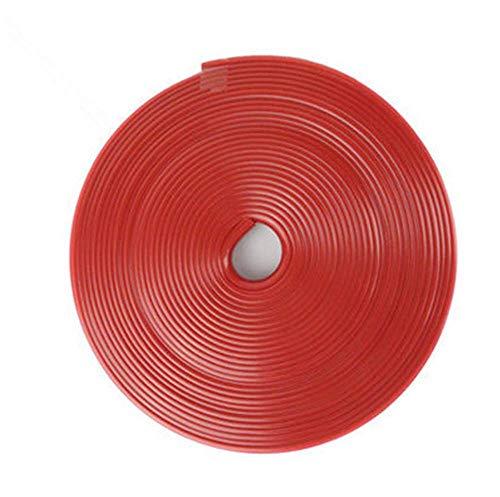 durable Coche 8M Tira de goma Personalidad Color Color Protección de la rueda Decoración con pegatinas de neumáticos Ajuste para BMW X7 X1 M760LI 740LE IX3 I3S I3 635D Wearable ( Color : Zt Red 8m )