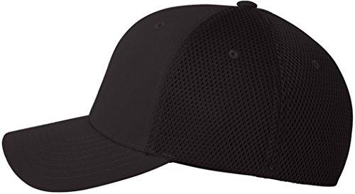 Premium original Flexfit Casquette en mesh Ultrafibre - Noir - S/M
