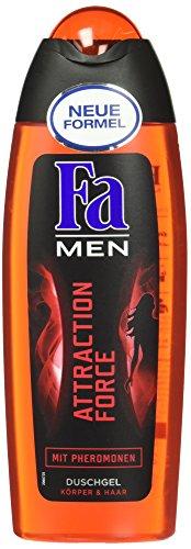 Fa Men Attraction Force, Duschgel Körper & Haar mit Pheromonen, 250 ml