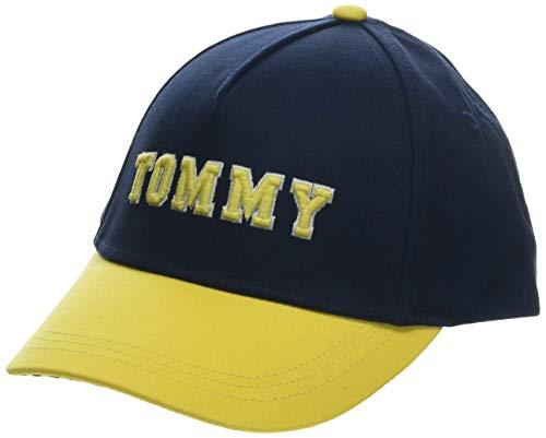 Tommy Hilfiger Varsity Cap Gorra, Azul (Black Iris/Aspen Gold 902), Large (Talla del Fabricante:...