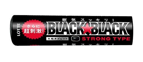 ロッテ ブラックブラックタブレット ストロングタイプ 32g [8489]