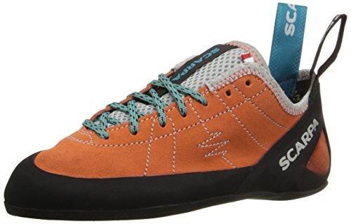 SCARPA Women's Helix WMN Climbing Shoe-W, Mandarin Red, 38 EU/7 M US
