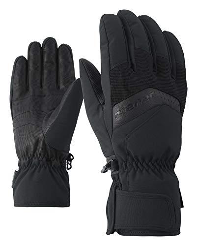 Ziener Herren GABINO glove ski alpine Ski-handschuhe, , schwarz (black), 7.5