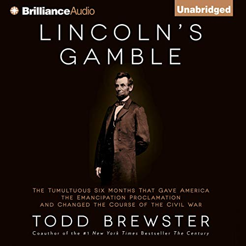 Lincoln's Gamble audiobook cover art