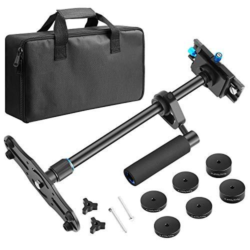Neewer Aluminium Alloy 24 inches/60 Centimeters Handheld Stabilizer (Black)