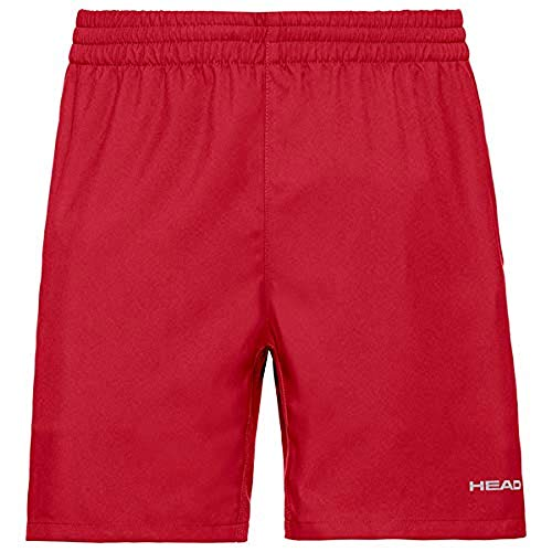 HEAD Pantalones cortos Club para hombre, Rojo, M