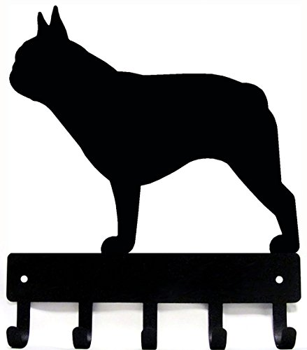 French Bulldog Key Rack & Dog Leash Hanger - Small 6 inch
