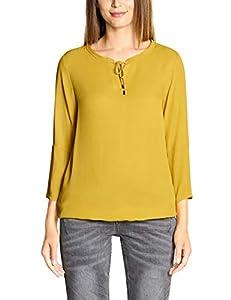 Cecil Damen 341651 Bluse, Gelb (Ceylon Yellow 11892), Large (Herstellergröße:L)