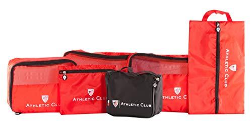 ATHLETIC CLUB BILBAO Pack Organizador 5 Piezas y Neceser Viaje AB