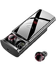 delinuo Bluetooth Earbuds Wireless Earbuds Sport Headphones Bluetooth 5.0, svart,2st