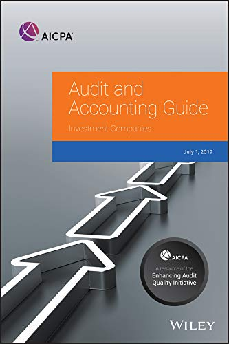 Investment Companies, 2019 (AICPA Audit and Accounting Guide)