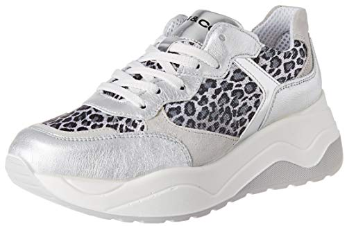 IGI&CO Scarpa Donna Dev 51680, Sneaker, Argento (Argento 5168066), 39 EU
