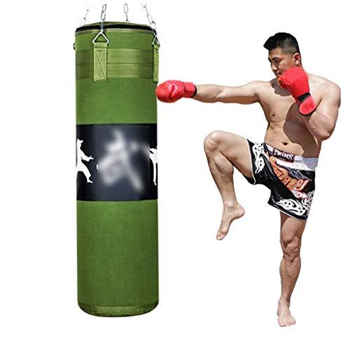 XHLLX Saco de boxeo de lona para colgar Sanda, saco de boxeo para adultos