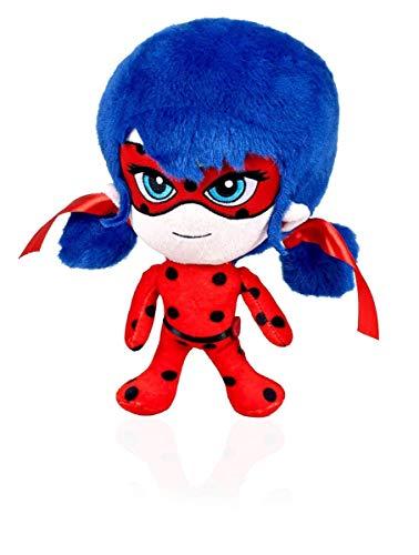 Miraculous Marienkäfer Plüsch, Weiche Spielzeug, Original, 3 verschiedene Charaktere verfügbar (Ladybug) (ladybug)
