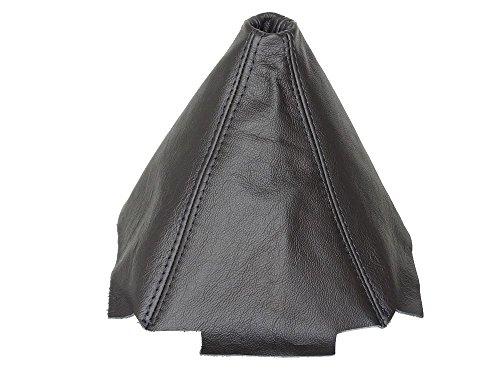 Für Honda CRX del Sol 1992–1997Schaltsack schwarz Leder