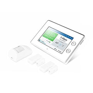 Samsung SmartThings ADT Wireless Home Security Starter Kit with DIY Smart Alarm System Hub, Door & Window Sensors, Motion Detector - Alexa Compatible (Zigbee, Z-Wave, Ip Network Protocols)