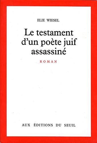 Le Testament d'un poète juif assassiné (Cadre Rouge)