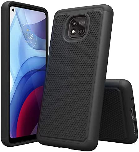 Sucnakp Moto g Power 2021 Case Motorola g Power 2021 Case Shock Absorption Drop Protection Hybrid product image